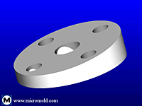 Tapered Full-Face Flange