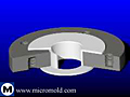 Lined Steel Straight-Bore Reducing Flange