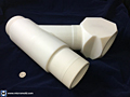 "4"" PTFE Y and Elbow Assemblies"